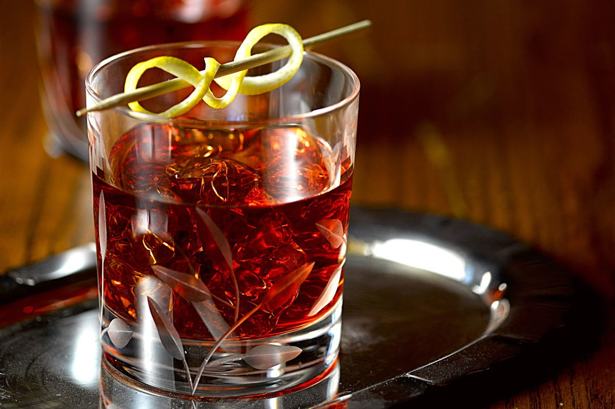 Vieux Carre: Cognac and Rye Whiskey