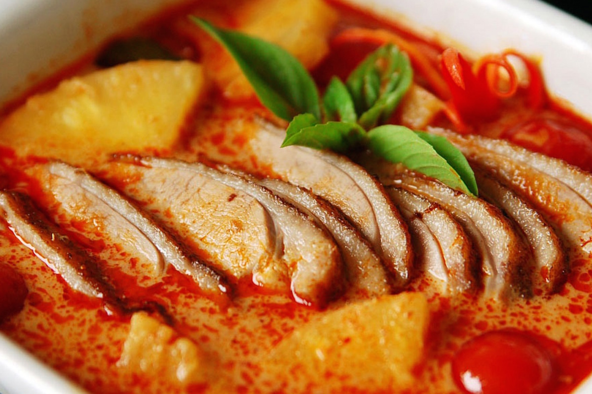Khmer Chicken Red Curry Recipe