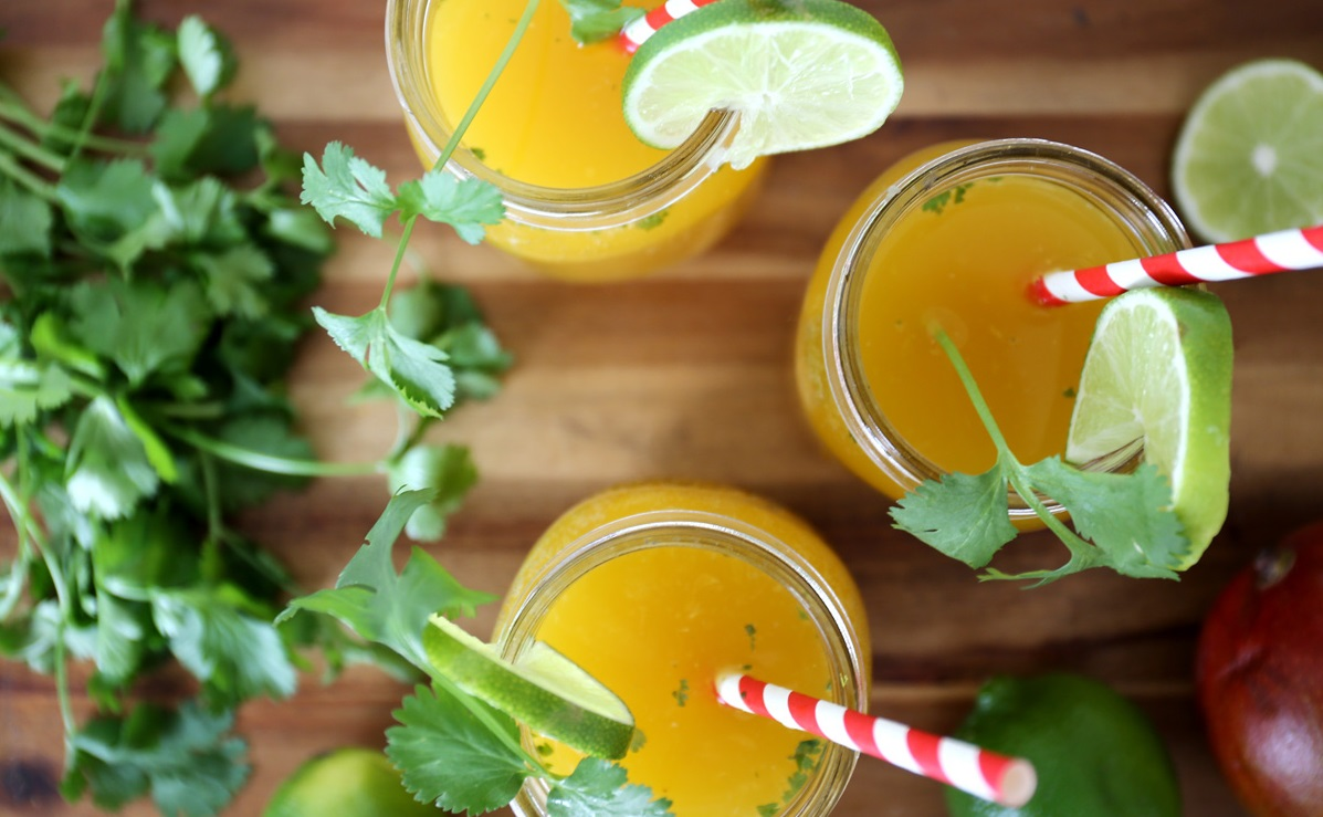 Mango Ginger Cocktail