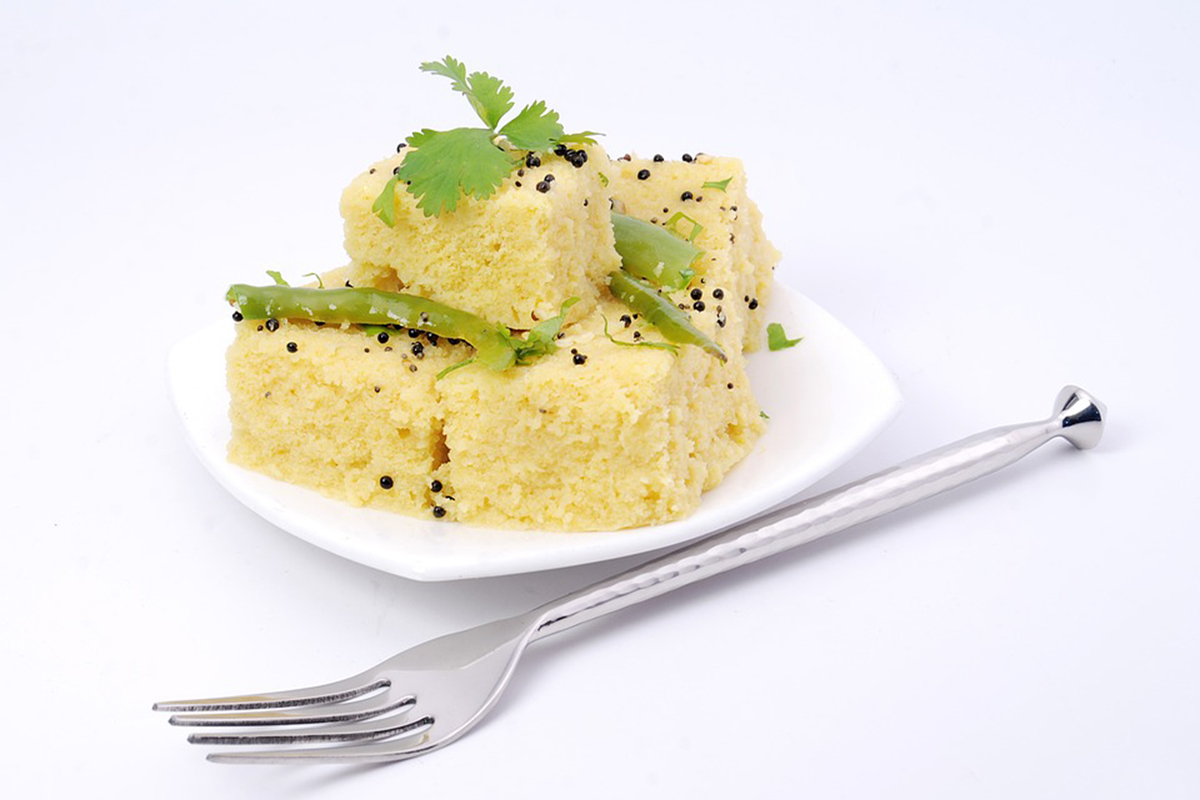 Simple Samosa Cartoon Dhokla Recipe For Kids