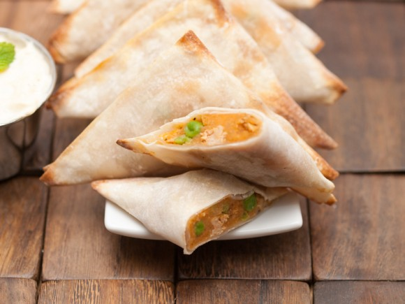Baked Chicken Samosa Recipe