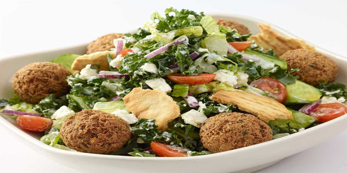 Falafel Cobb Salad Recipe