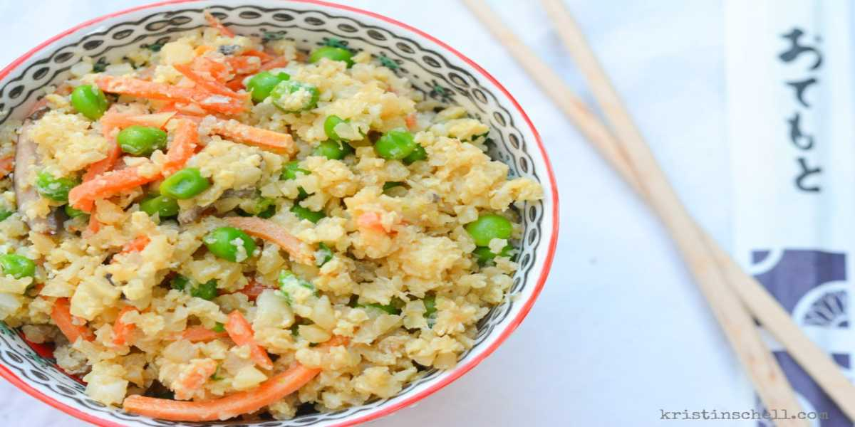 Cauliflower Rice Stir Fry Recipe