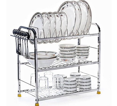 Home-Creations-Kitchen-Dish-Rack-Plate-Cutlery-Stand