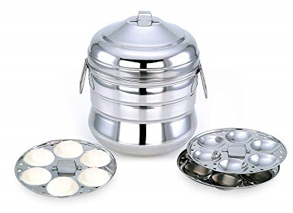 Mitali-Stainless-Steel-Induction-Base-Idly-Cooker