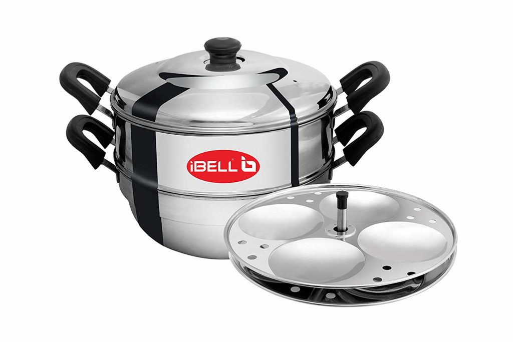 iBELL-IDLY-Cooker-2-Plate-Stainless-Steel-Idly-Cooker