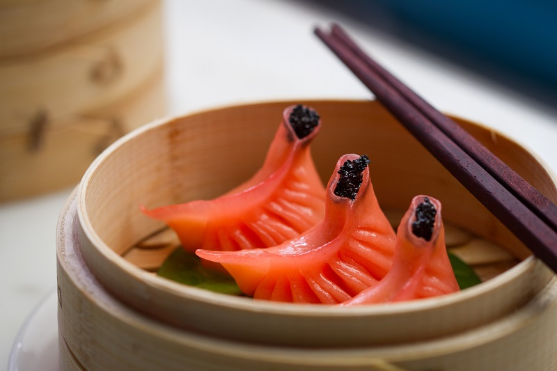 """Dim Means """"TOUCH"""", Sum Means """"HEART"""", Touch The Heart With Yauatcha's Red Dim Sum And More This Valentine's Day"""