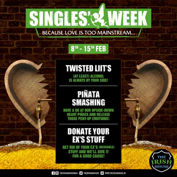 Celebrate Singlehood The Irish Way From 8th To 15th February 2019