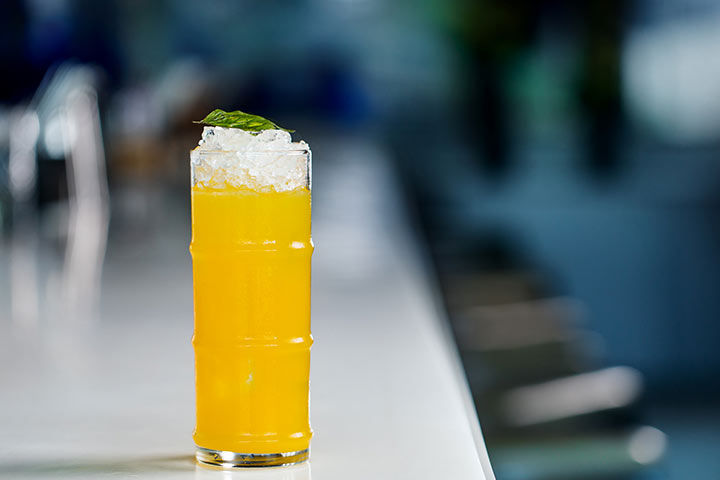 Experience The Supreme Taste Of Yauatcha Menu With Golden Ging Cocktail At Yauatcha, Bandra Kurla Complex