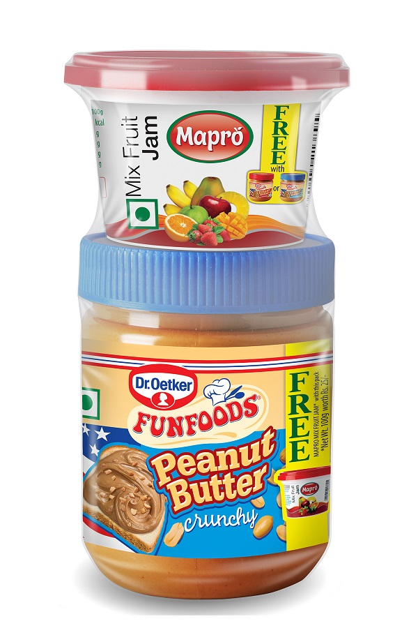 FunFoods By Dr. Oetker Just Released an Epic Peanut Butter and Jam Combination