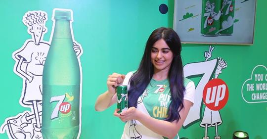 adah sharma 7up fido dido