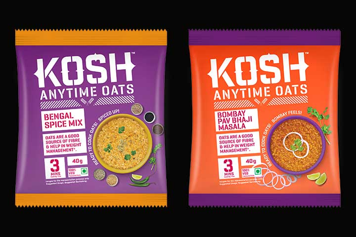 Kosh Introduces Three New Flavours In Their Oats Range