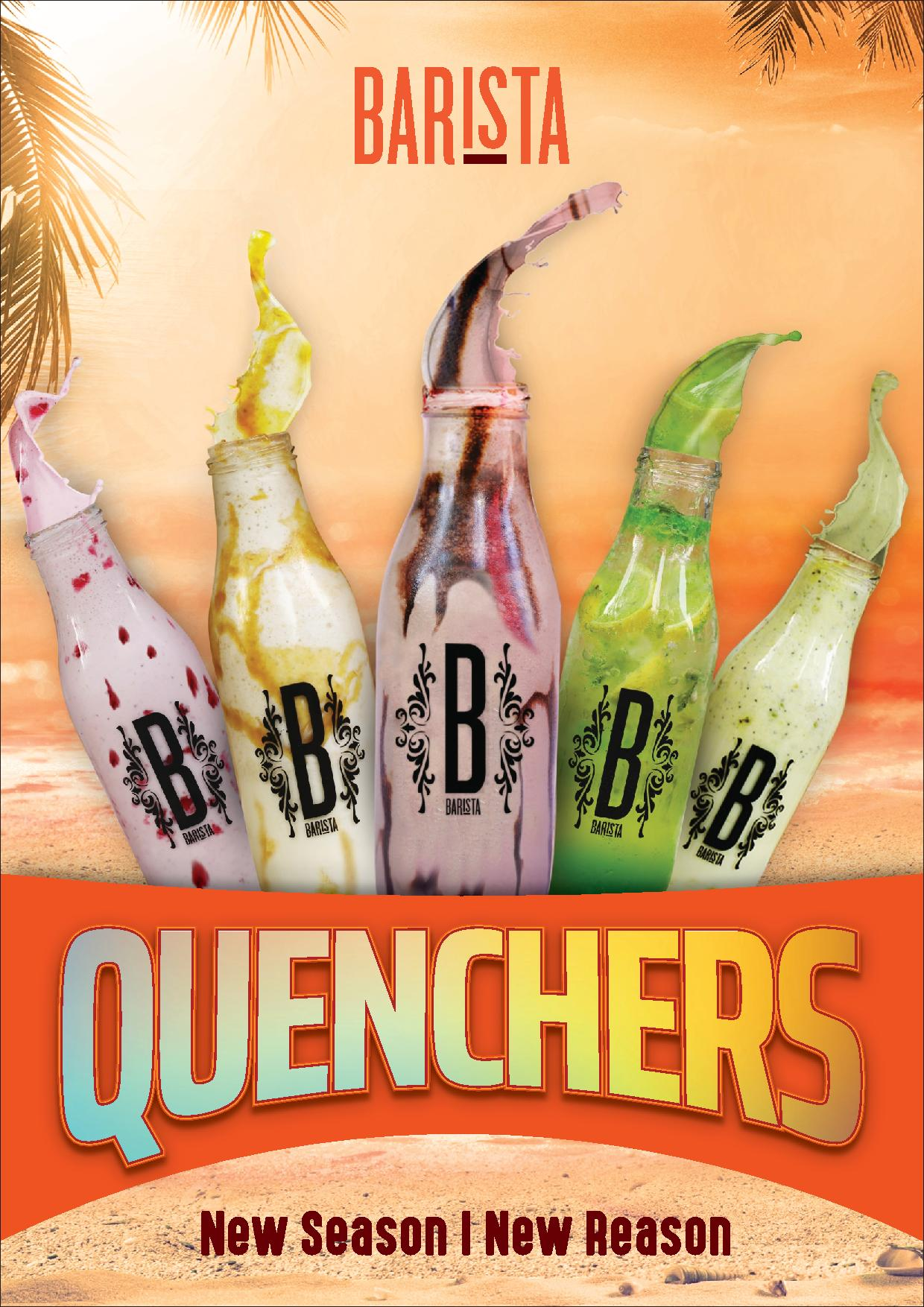Exclusive Quenchers Now Available At Barista!