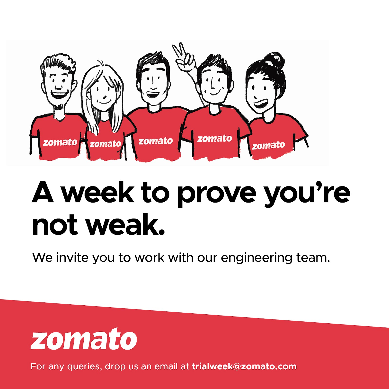 Engineers Alert: Zomato Opens Registrations For Its 'Trial Week'