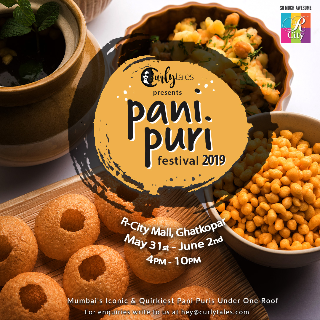 Curly Tales Is Back With Mumbai's Biggest Pani Puri Festival!