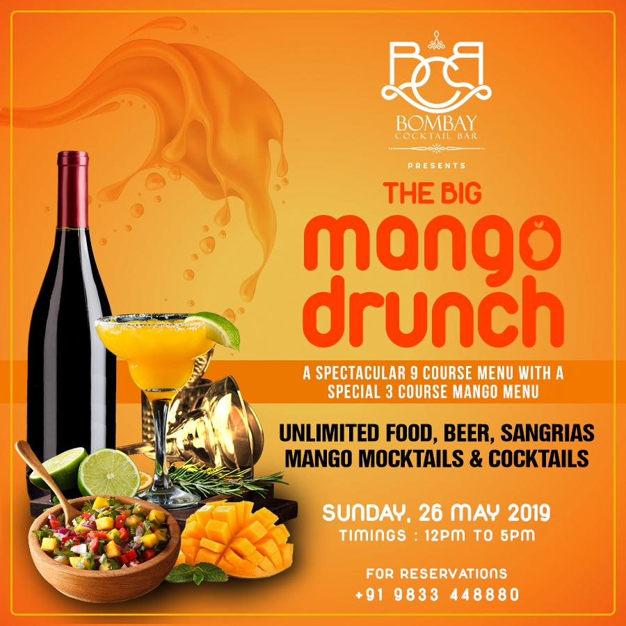 Get Ready For The Big Mango Drunch At Bombay Cocktail Bar, Andheri