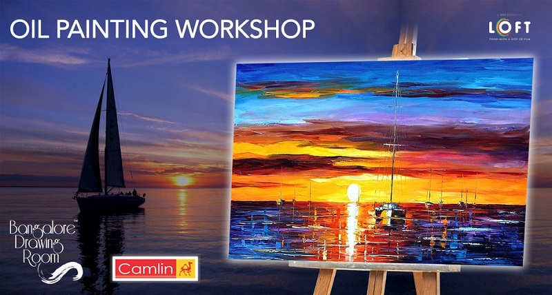 Revel in the World of Paint with Loft's Oil Painting Workshop
