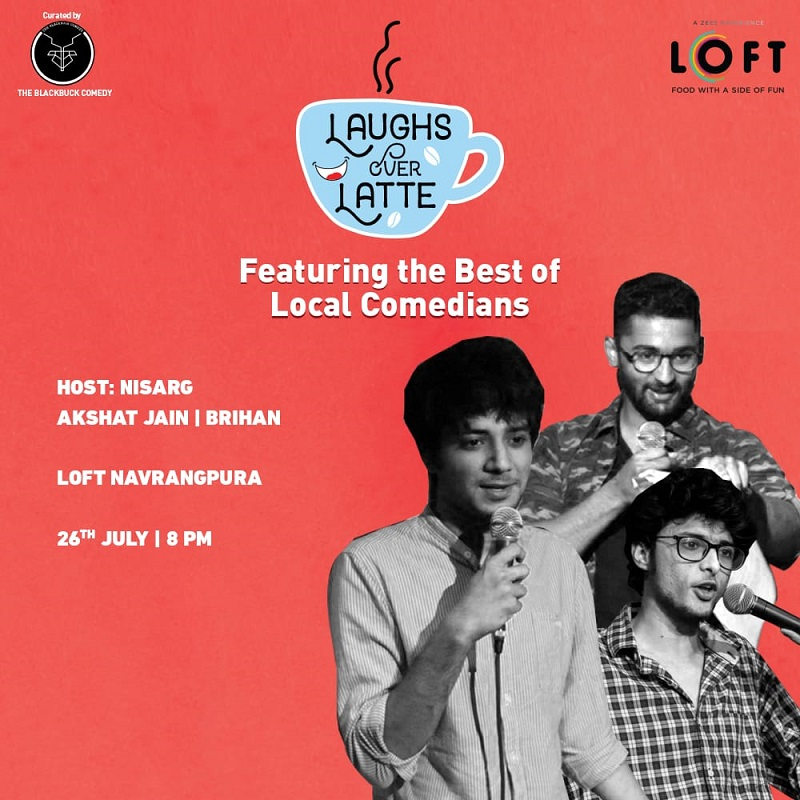 Get ready to roll on the floor laughing with Loft's Laughs Over Latte