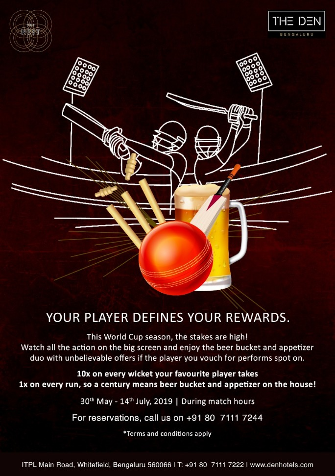 Don't Miss The ICC World Cup Finale Fever at The Den Bengaluru