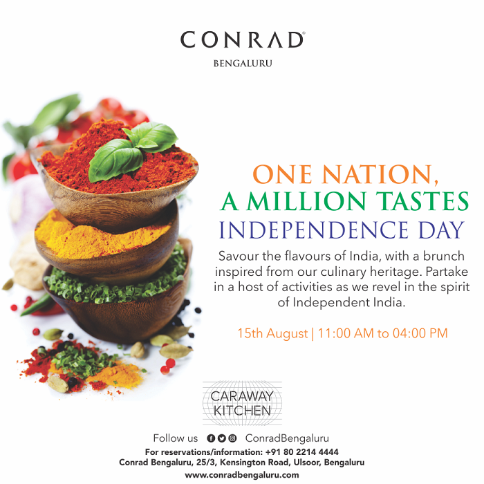 Brunch It Up In Bengaluru This Independence Day