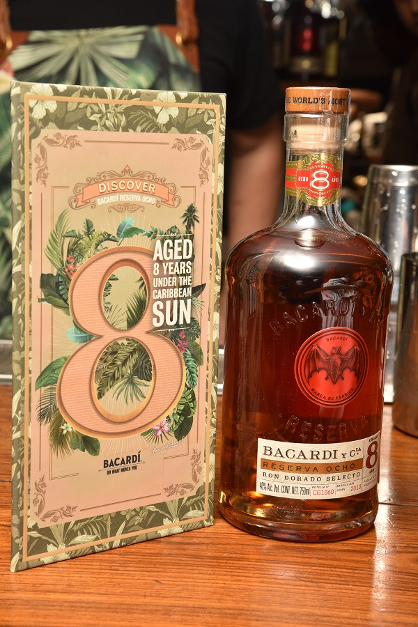 Bacardi Introduces India To their 'Personal Reserve Rum' with Bacardi Reserva Ocho