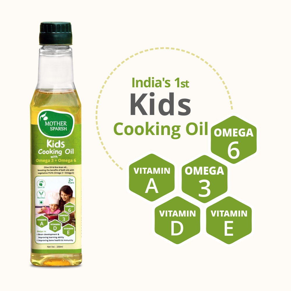 Mother Sparsh Launches New Kids Cooking Oil