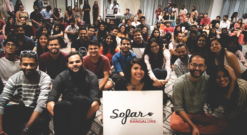 Hyatt Centric MG Road Bangalore Collaborates with Sofar Sounds for a Secret Music Gig
