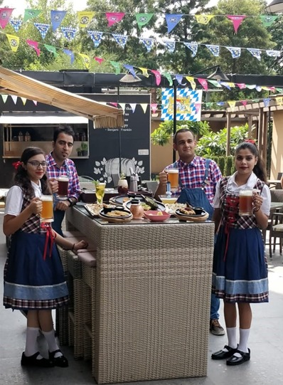 JW Marriott Chandigarh Recreates Munich and Brings To Life A Relic From The Very First Oktoberfest