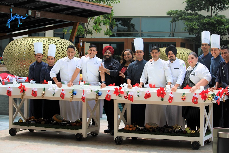 An Enthralling Cake Mixing Ceremony at Sheraton Grand Bengaluru Whitefield Hotel!