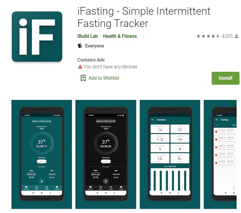 lose weight with this app