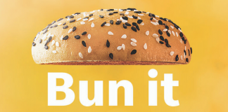 Whole wheat bun