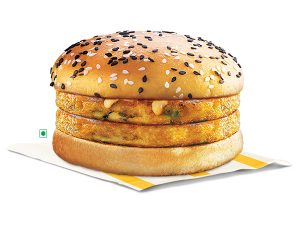 Dosa Masala Burger (Double Patty)