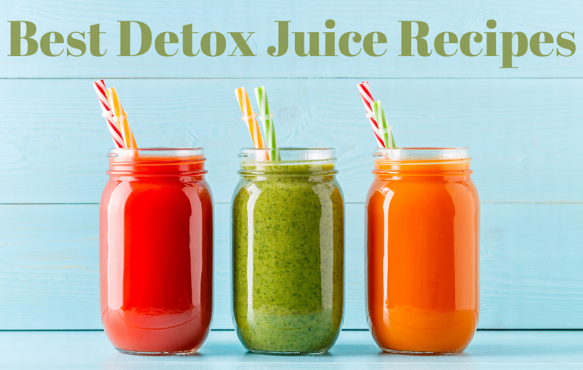 Detox Juice: The 10 Best Recipes for Healthy Eating